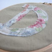 Monogramed Embroidery Hoop