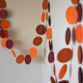Autumn Paper Garland