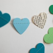 Custom Heart Paper Garland
