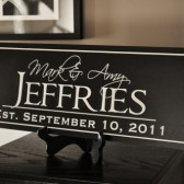 8x24 Family Name Sign
