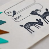 Woodland Wedding Favor Tags