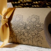Sunflower Pillow Boxes