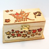 Autumn Wedding Ring Bearer Box