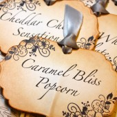 Vintage Inspired Candy Buffet Label Skewers