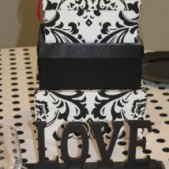 Damask Card Box Rental