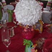 White Rose Pomander Rental