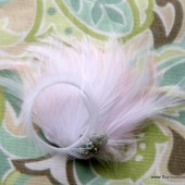 Soft Pink and Blue Hair Comb