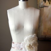 Silk Wedding Sash