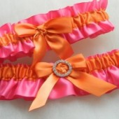 Flamingo Garter Set
