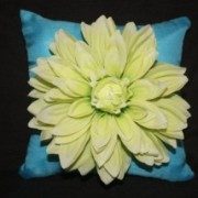 Dahlia Ring Pillow