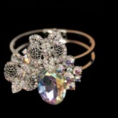 Adelle Multi Color Crystal AB Vintage Bracelet