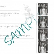 Custom Fun Question Guest Book