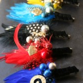 Alice in Wonderland - Novelty Boutonniere Collection - Can be customized