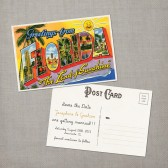 Traveller - Save the Date Card