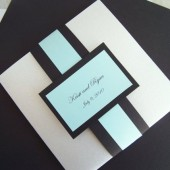 Double Stacked Pocketfold Invitation Set