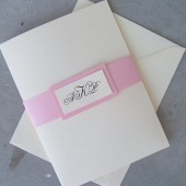 Complete Elegance Knotted Pocketfold Invitation Set
