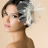 Esperanza - Bridal Hair Fascinator Comb