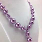 Purple Bridesmaid Necklace