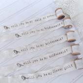 will you be my bridesmaid token of affection gift