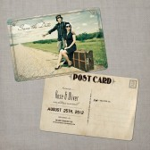 Rose - Save the Date Card