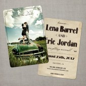 Lena - Save the Date Card