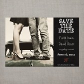 Faith - Save the Date Card