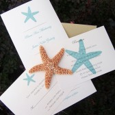 Classic Starfish Invitation Set