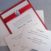 Gem Simplicity Invitation Set