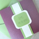 Layered Pocketfold Invitation Set