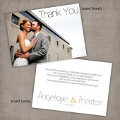 Angelique - Thank You Card