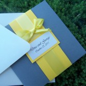 Bow Pocketfold Invitation Set