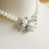 Patricia Bridal Necklace