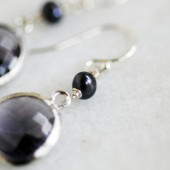 Michelle Plum Earrings