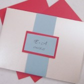 Sea Side Pocketfold Invitation Set