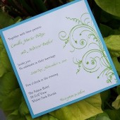 Swirl Invitation Set