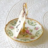 Table Number or Sign Saucer Stand