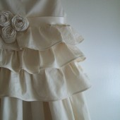 Liv...cotton flower girl dress