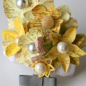 Yellow Atlas Corsage
