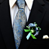 Blue Bird Boutonniere