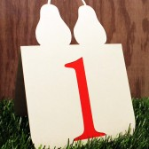 Perfect Pear Table Numbers
