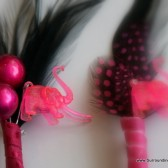 Pink Elephants on Parade Boutonniere