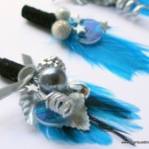 Planet and Stars Corsage - Space Boutonniere