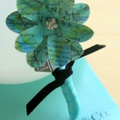Tiffany Blue Atlas Boutonniere
