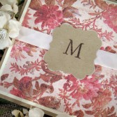 Custom Monogram Card