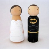 Superhero and His bride