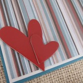 Love Card Featuring Chipboard Heart
