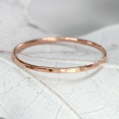 14k Rose Gold Band