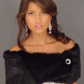 black mink wrap