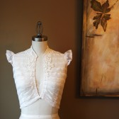 Embellished Vintage Lace Shrug