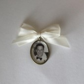 Oval Photo Frame Charm